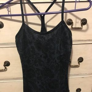 Lululemon Paisley Print Tank with Built in Bra.